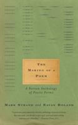 Paperback The Making of a Poem : A Norton Anthology of Poetic Forms Book