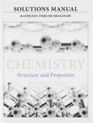 Solutions Manual For For Chemistry Book By Nivaldo J Tro
