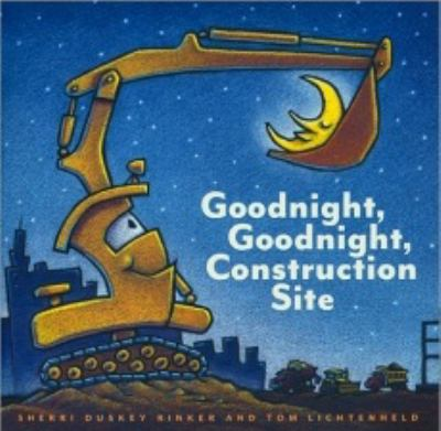 Paperback Goodnight Goodnight Construction Site Book