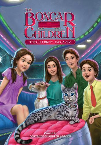 The Celebrity Cat Caper - Book #143 of the Boxcar Children