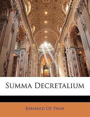 Paperback Summa Decretalium Book