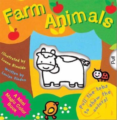 A Mini Magic Color Book Farm Animals By Luana Rinaldo