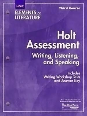 Holt McDougal Literature: Assessment    book