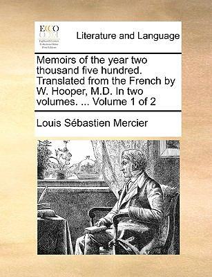 Memoirs of the Year Two - Louis Sebastien Mercier