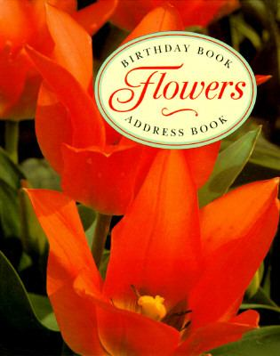 Hardcover Diary and Address Book Gift Set : Flowers Book