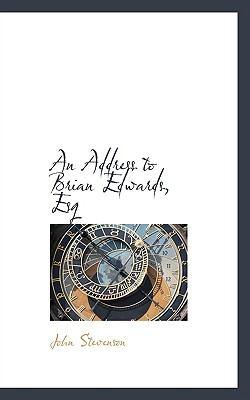 Paperback An Address to Brian Edwards, Esq Book
