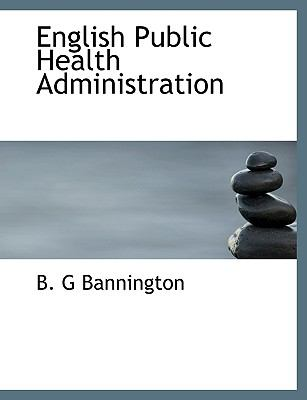 Paperback English Public Health Administration Book