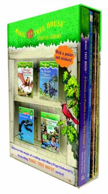 Magic Tree House: Starter Library Boxed Set (Magic Tree House #1-2) - Book  of the Magic Tree House