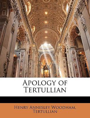 Paperback Apology of Tertullian Book
