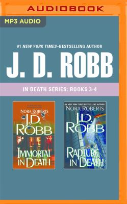 J. D. Robb - In Death Series: Books 3-4: Immortal in Death, Rapture in Death - Book  of the In Death