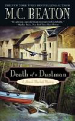 Death of a Dustman: A Hamish Macbeth Mystery 0446609315 Book Cover
