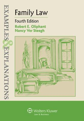 Examples & explanations: family law, Book by robert e. Oliphant.