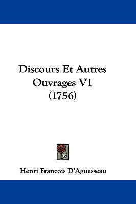 Hardcover Discours et Autres Ouvrages V1 Book