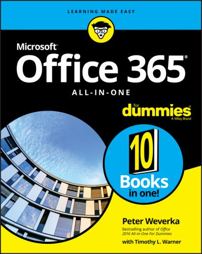 Paperback Office 365 All-In-One for Dummies Book