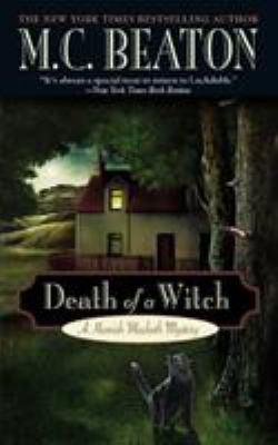 Death of a Witch B0072Q1L6W Book Cover