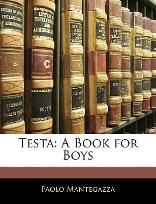 Paperback Test : A Book for Boys Book