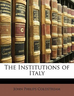 Paperback The Institutions of Italy Book
