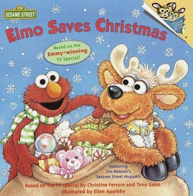 Elmo Saves Christmas.Elmo Saves Christmas Pictureback R Book By Ellen Appleby