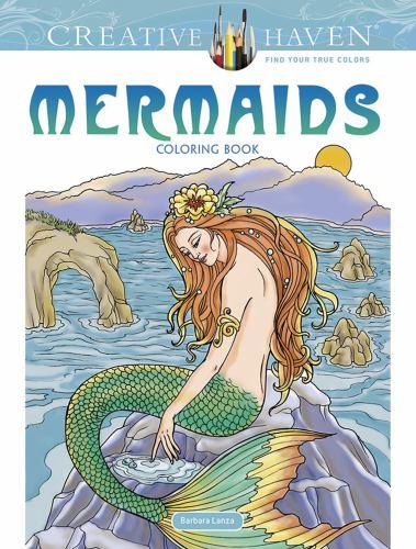 Creative Haven Mermaids Coloring Book By Barbara Lanza