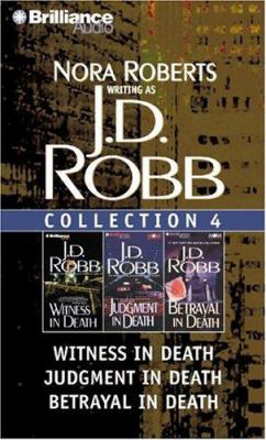 Audio Cassette J. D. Robb Collection 4: Witness in Death, Judgment in Death, and Betrayal in Death (In Death Series) Book