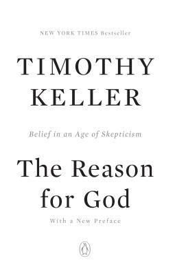 Paperback The Reason for God : Belief in an Age of Scepticism Book
