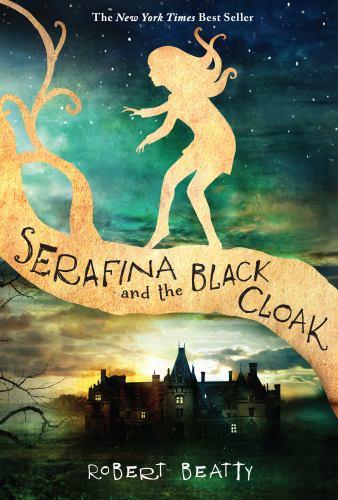 Paperback Serafina and the Black Cloak Book