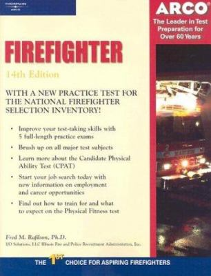 Arco Master the Firefighter Exam (Arco    book by Fred M