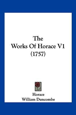 Hardcover The Works of Horace V1 Book