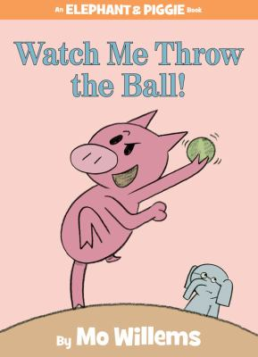 Hardcover Watch Me Throw the Ball! Book