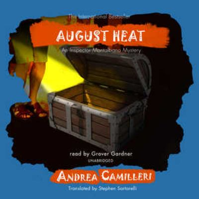 August Heat (An Inspector Montalbano Mystery) (Library Edition) (Inspector Montalbano Mysteries) - Andrea Camilleri