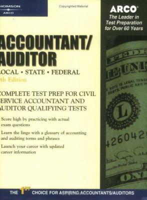 arco accountant auditor book by deborah j byrne rh thriftbooks com Accountant Auditor Salary Accountant Auditor Job Description