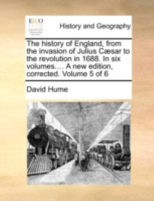 Paperback The History of England, from the Invasion of Julius C?sar to the Revolution In 16 Book