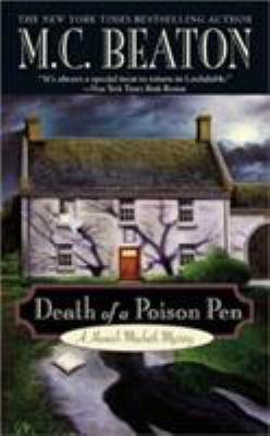 Death of a Poison Pen B0072Q4AU6 Book Cover