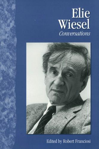 Paperback Elie Wiesel : Conversations Book