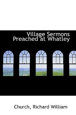 Paperback Village Sermons Preached at Whatley Book