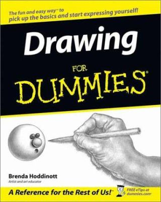 Paperback Drawing for Dummies Book