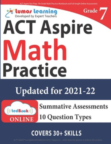 ACT Aspire Test Prep: 7th Grade Math    book by Lumos Learning