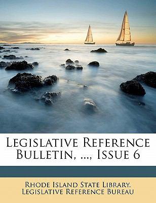 Paperback Legislative Reference Bulletin, , Issue Book