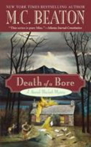 Death of a Bore 0446617199 Book Cover