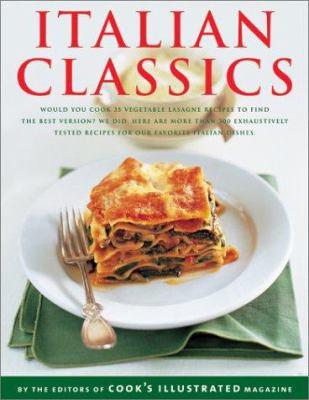 Italian Classics (The Best Recipe Series) - Book  of the Best Recipe