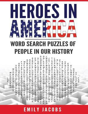 heroes in america word search puzzles book by emily jacobs