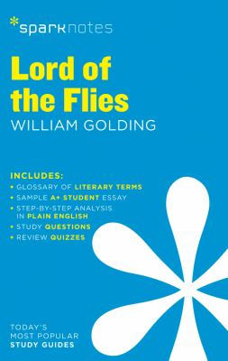 Lord of the Flies Sparknotes Literature Guide, 42 1411469860 Book Cover