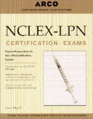 NCLEX - LPN Certification Exams book by Arco