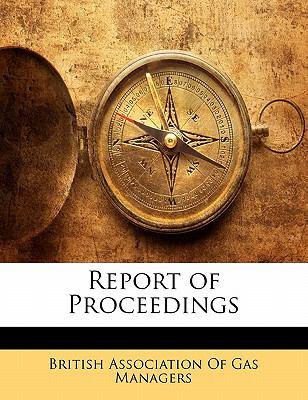 Paperback Report of Proceedings Book