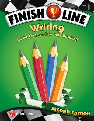 Paperback Finish Line Writing : For the Common Core State Standards Grade 1 Book