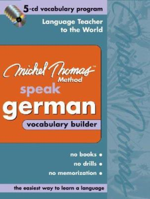 Michel Thomas German Vocabulary Builder:    book by Michel Thomas