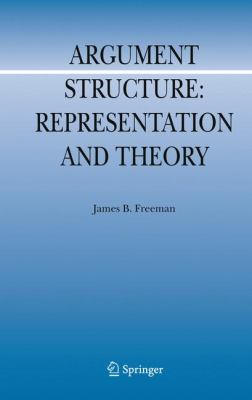 Argument Structure : Representation and Theory - James B. Freeman