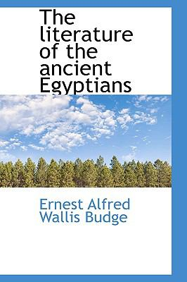 Paperback The Literature of the Ancient Egyptians Book