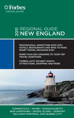 Forbes Travel Guide 2011 New England - Forbes Travel Guide