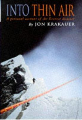 into thin air a personal account of the book by jon krakauer
